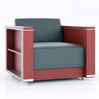 3ds merx zeus armchair
