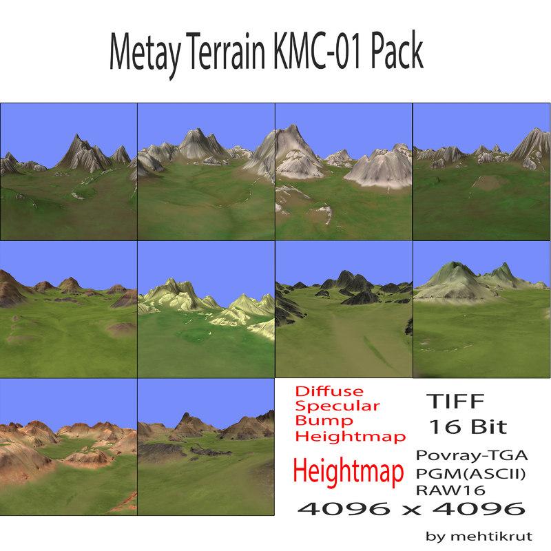 3d metay terrain kmc-01 pack