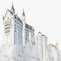 3dsmax neuschwanstein castle 2