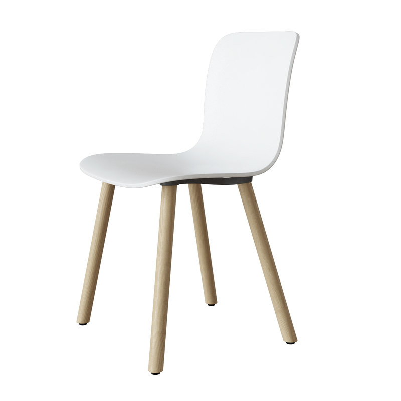 max vitra hal wood chair