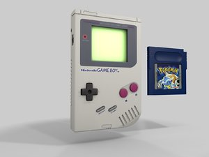 3d nintendo gameboy model