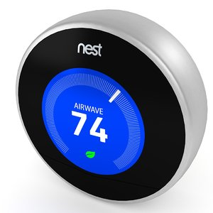 nest thermostat 3d 3ds