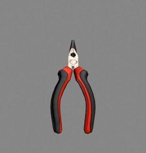 caliper electric tip 3d model