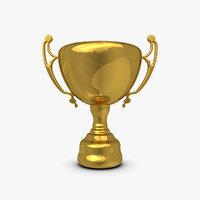 trophy cup 6 3d 3ds