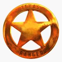 3dsmax texas ranger badge 1