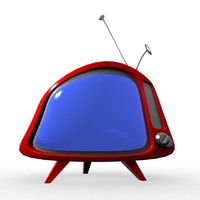 3d tv cartoon