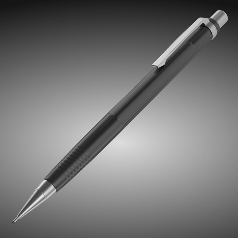3ds max pencil subdivided