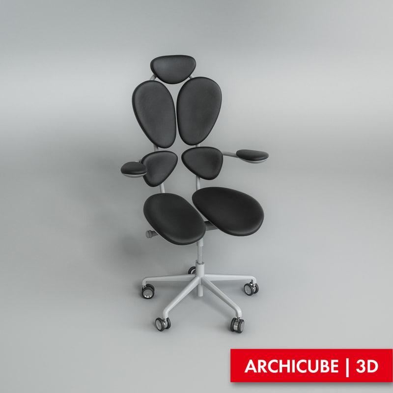 office chair obj