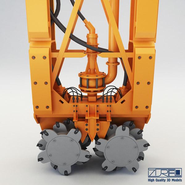 drilling rig 3d model
