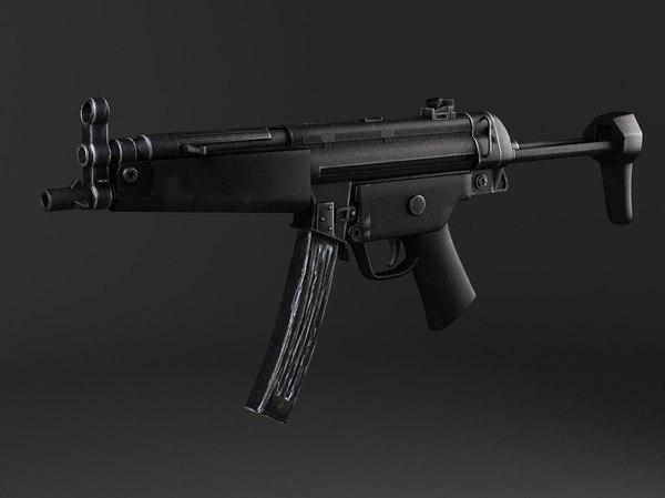 max germany machine gun mp5a5