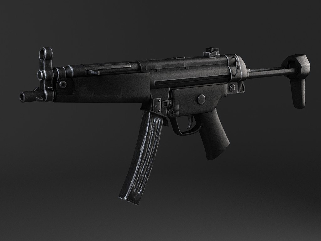 max germany machine gun mp5a5