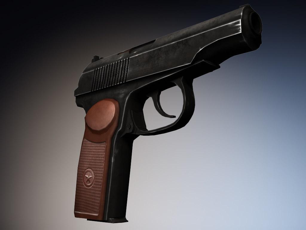makarov handgun pistol max