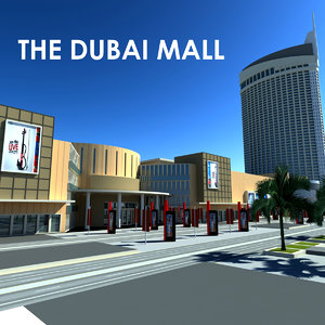 dubai mall 3d model