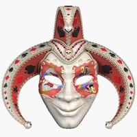 3d max mask joker