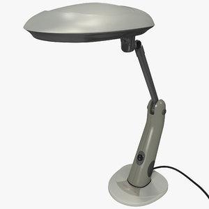 sunlight desk lamp 3d 3ds