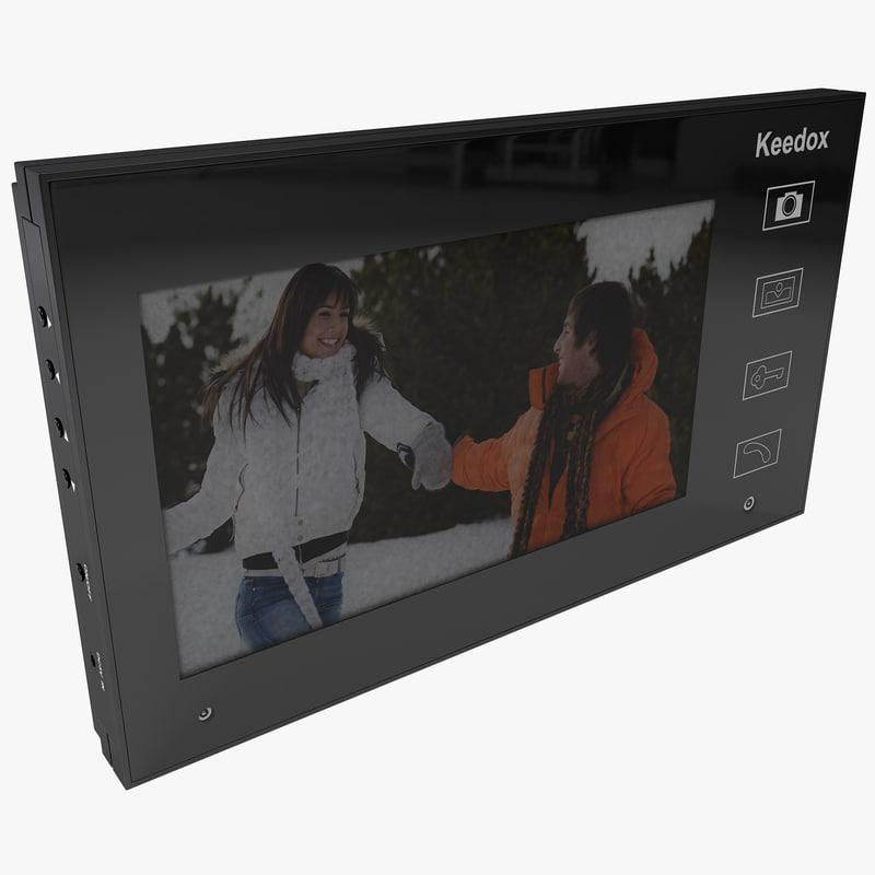 3d 3ds video intercom keedox