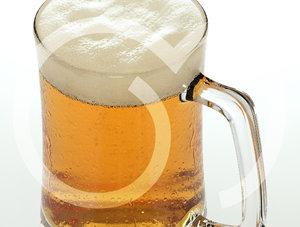 3d photorealistic beer