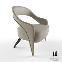 3d brabbu tellus armchair
