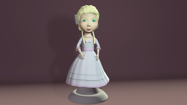 character girl vempire obj