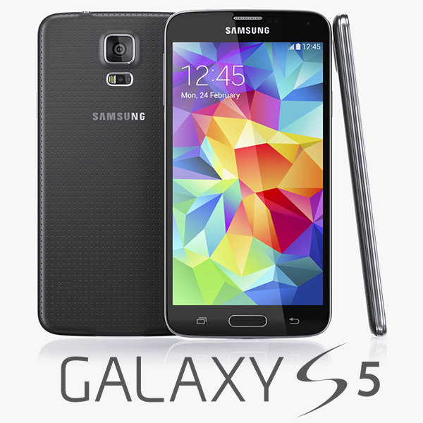 3d samsung galaxy s5 model
