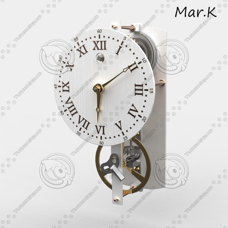 c4d old clockwork