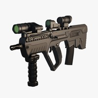assault rifle tavor x95 obj