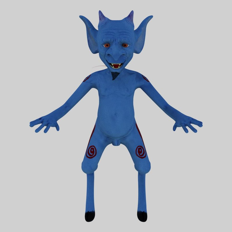 character shmig 3d model
