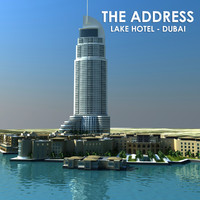 3d address dubai model