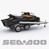 Sea-Doo GTI 215 and trailer