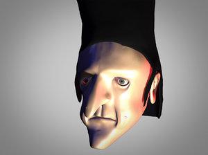 head guy 3d max
