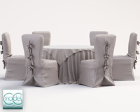 c4d wedding table chairs