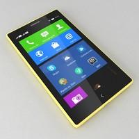 3ds nokia xl yellow