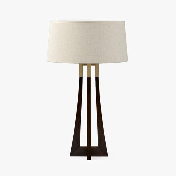 baker moderne table lamp max