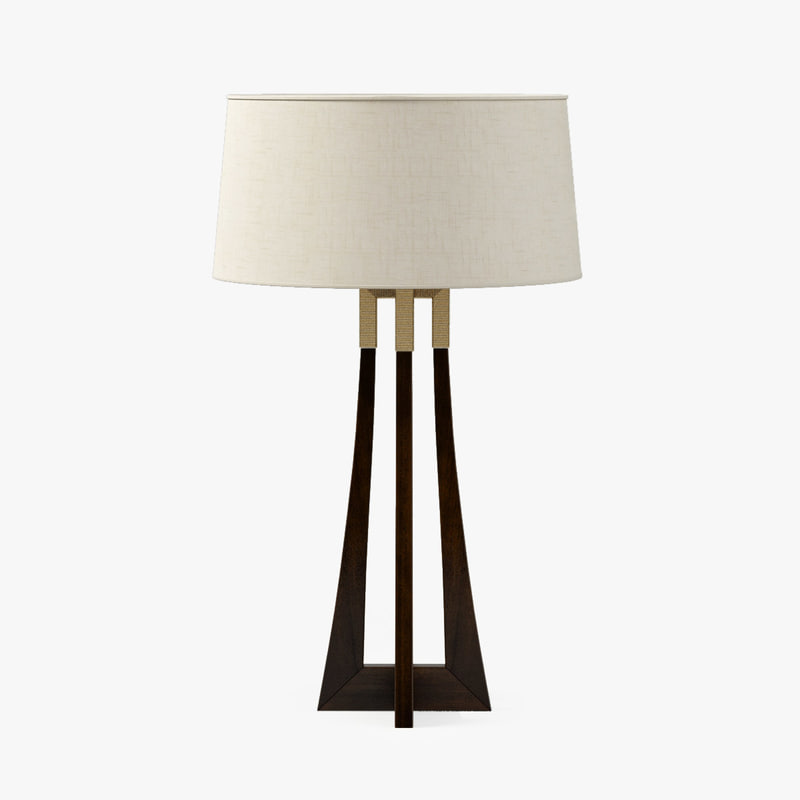 baker moderne table lamp max