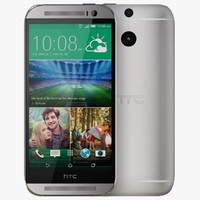 HTC One M8 Glacial Silver