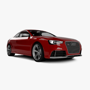3ds max audi rs5 2013
