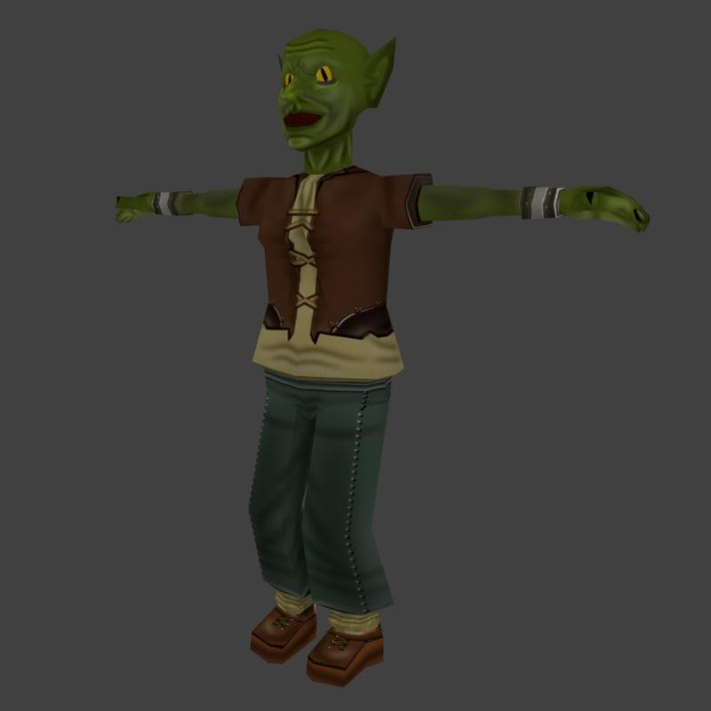 goblin medieval 3ds