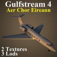 gulfstream 4 irl 3d max