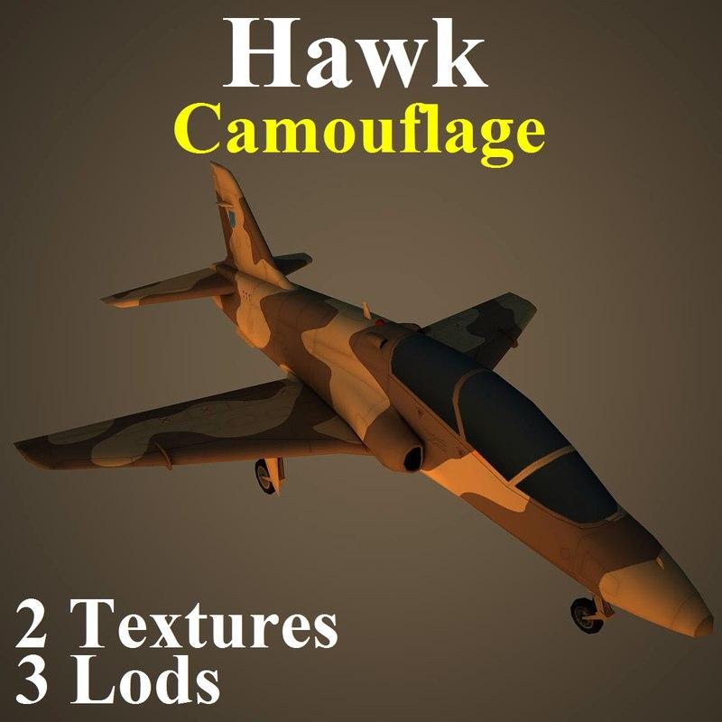 3d british aerospace hawk cam