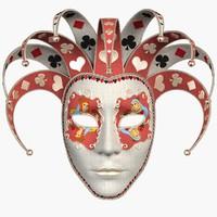 Mask Pierrot 05