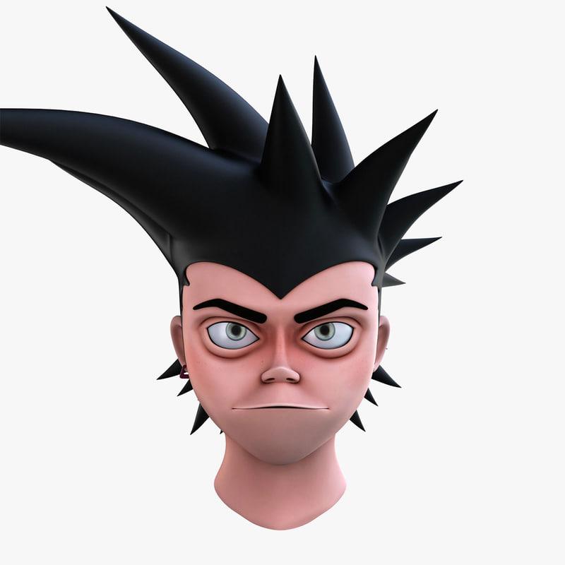 max new cartoon head