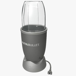 3d model nutribullet nutrition food extraction