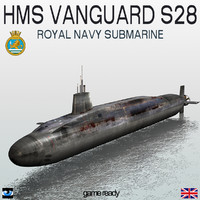 HMS Vanguard (S28) Submarine