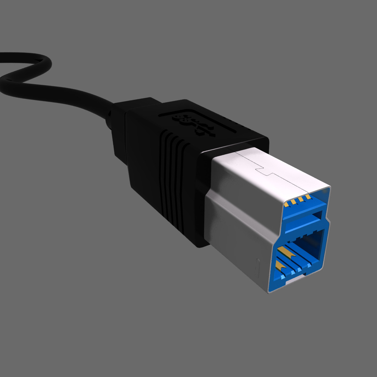 3dsmax usb connector 3 typ