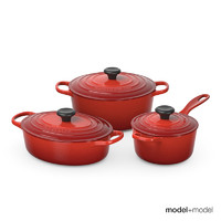 Le Creuset cookware set