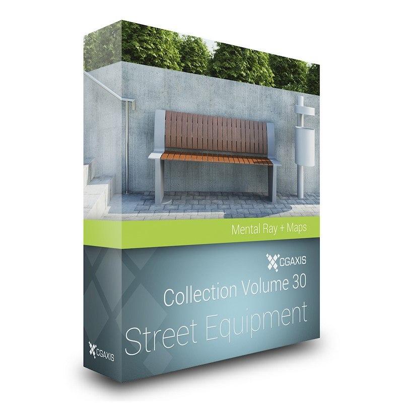 3ds max volume 30 street equipment