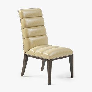 3dsmax lexington stuart leather chair