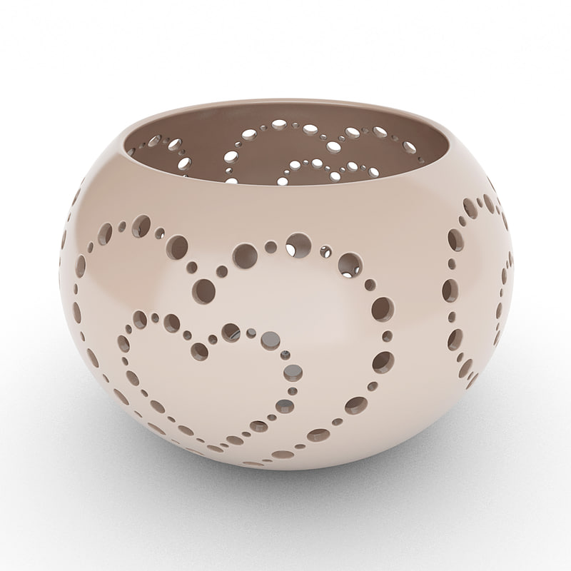 tealight holder 3d model