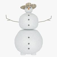 3d model snowmen archiv
