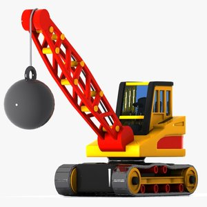 3ds toon ball crane